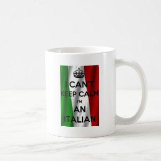ICH KANN RUHE NICHT BEHALTEN… Ich bin ITALIENISCH Kaffeetasse