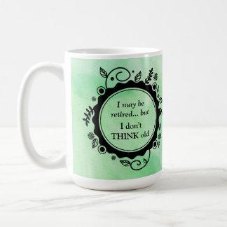 Ich kann zurückgezogen werden - aber ich DENKE Kaffeetasse