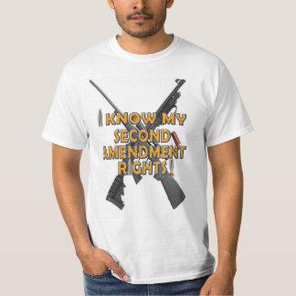 Ich kenne meine zweiten Änderungs-Rechte - T - T-Shirt