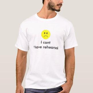 Ich kippe mich habe Probent-shirt T-Shirt