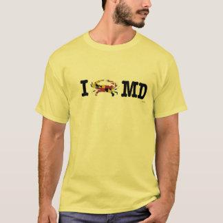 Ich kratze Maryland-Shirt T-Shirt