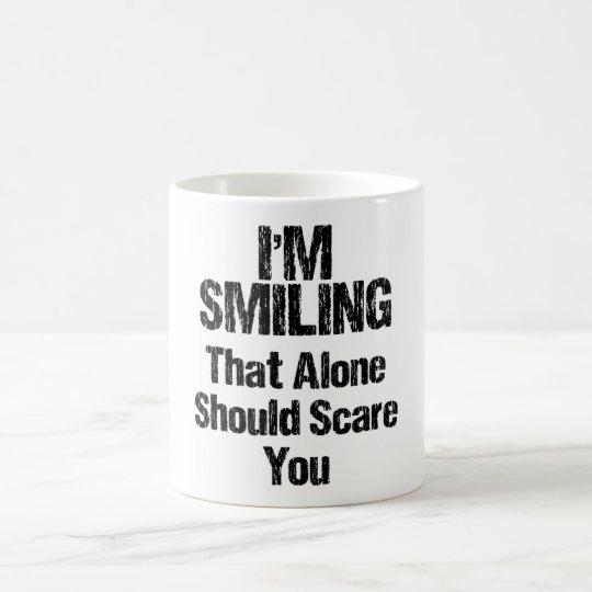 Ich lächele - lustig tasse
