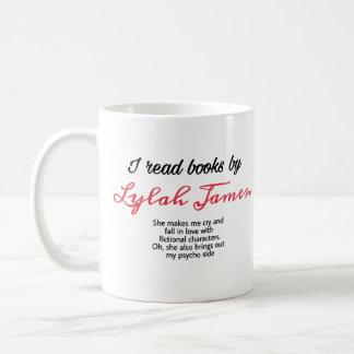 Ich las Bücher durch lylah James-Tasse Kaffeetasse