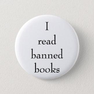Ich las Button der verbotenen Bücher