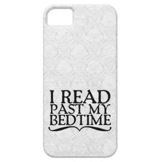 Ich las hinter meiner Schlafenszeit iPhone 5 Hülle