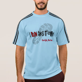 Ich lasse diese Stadt kundenspezifisches Adidas SS T-Shirt