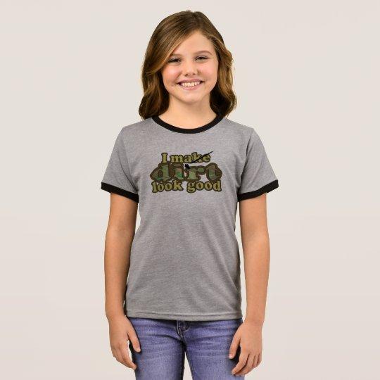 Ich lasse Schmutz good_ schauen Ringer T-Shirt