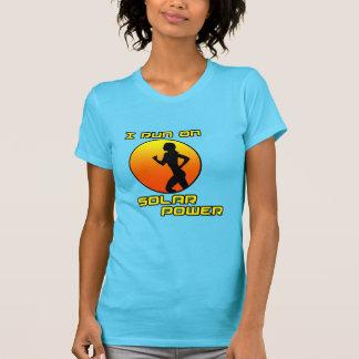 Ich laufe auf SolarPower T-Shirt