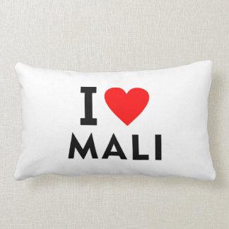 Ich liebe Mali-Land wie Herzreisetourismus Lendenkissen
