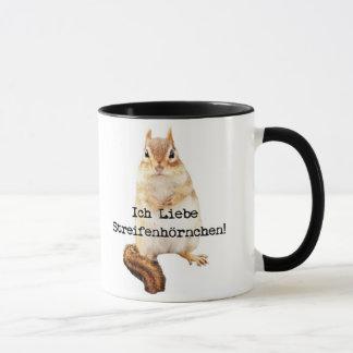 Ich Liebe Streifenhörnchen! Tasse