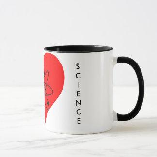 """""""Ich Liebe-Wissenschafts-"""" Tasse"""