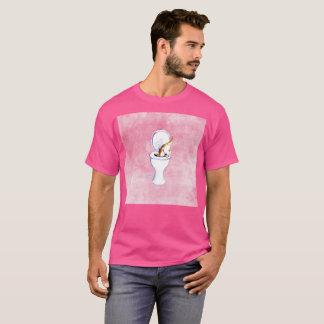 Ich ließ es Gato Fehlerwatercolor-seltener T - T-Shirt