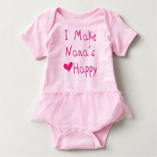 Ich mache Nanas Herz glücklichen Baby Strampler