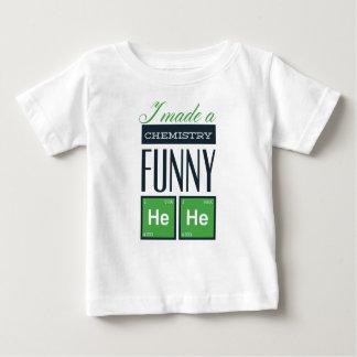 Ich machte eine Chemie lustig hier Baby T-shirt