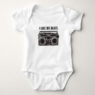 Ich mag Big Beat Baby Strampler