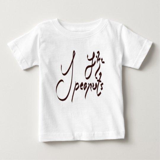 Ich mag Erdnuss-T - Shirt