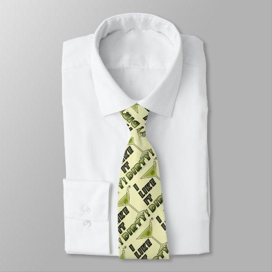 ICH MAG ES SCHMUTZIG! Schmutziger Bedruckte Krawatten