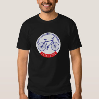 Ich mag Fahrrad (MTB) T-shirts