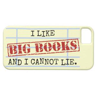 Ich mag große Bücher und ich kann nicht liegen iPhone 5 Cover