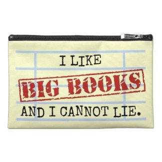Ich mag große Bücher und ich kann nicht liegen Reisekulturtasche