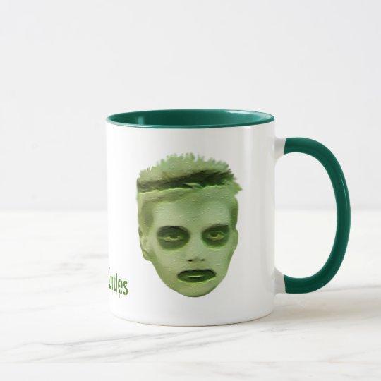 Ich mag Schildkröte-Zombie-KinderTasse Tasse