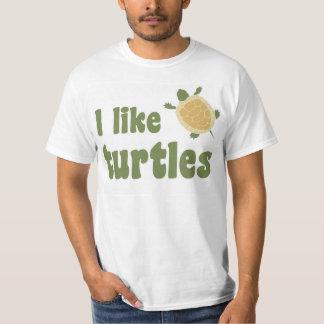 Ich mag Schildkröten T-Shirt
