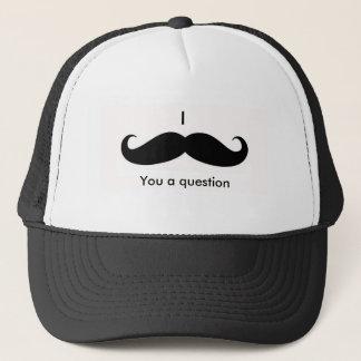 Ich muss Ihnen ein quiestion fragen Truckerkappe