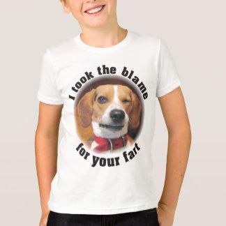Ich nahm die Schuld für Ihre Furz T-Shirt