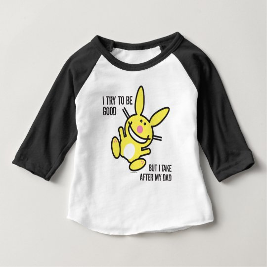 Ich nehme nach meinem Vati Baby T-shirt