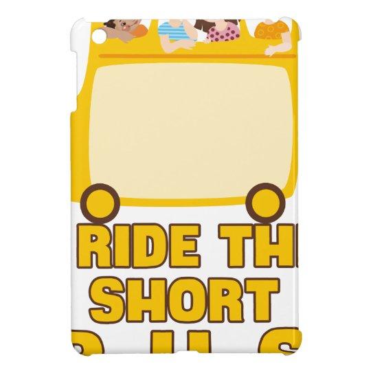 Ich reite das kurze Bus GELB-SCHULbus-COMIC iPad Mini Schale