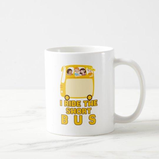 Ich reite das kurze Bus GELB-SCHULbus-COMIC Tasse
