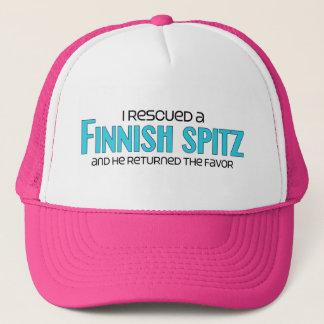 Ich rettete einen finnischen Spitz (männlichen Truckerkappe