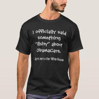 """Ich sagte offiziell """"fischartiges"""" etwas über T-Shirt"""