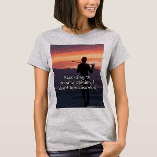 Ich schaue nicht mit Behinderung T - Shirt