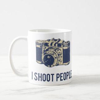 Ich schieße Leute-Fotografie-Kamera Kaffeetasse