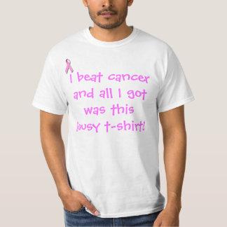 Ich schlug Krebs und aller, den ich erhielt, war… T-Shirt