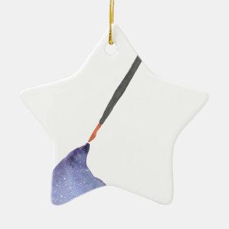 Ich schrieb dieses für Sie Keramik Stern-Ornament