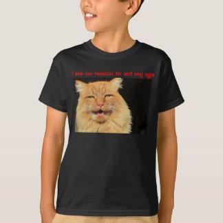 Ich sehe keinen Grund zu fungieren mein Alter T-Shirt