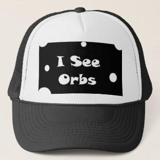 Ich sehe Kugel-Hut Truckerkappe