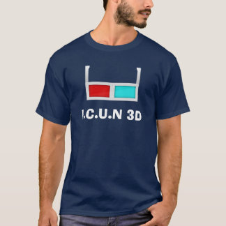 ICH SEHE SIE IN 3D T-Shirt