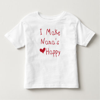 Ich stelle Nanas Herz den glücklichen T - Shirt