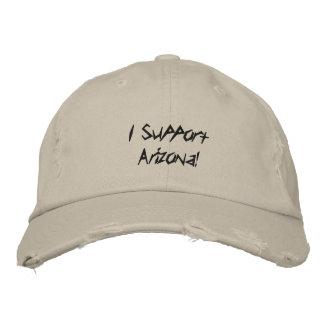 Ich stütze Arizona! Bestickte Baseballkappe