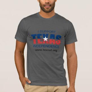 Ich stütze TEXAS-Unabhängigkeit T-Shirt