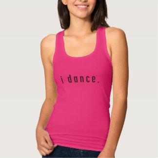ich tanze Himbeerbehälter Tank Top