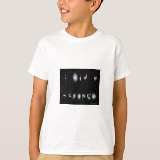 """""""Ich tat eine Wissenschaft"""" - geschrieben in T-Shirt"""