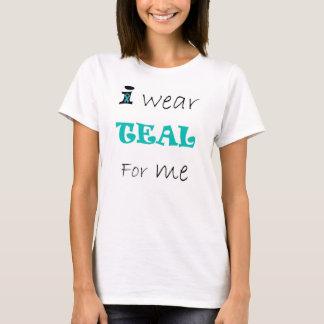 Ich trage AQUAMARIN für mich T-Shirt