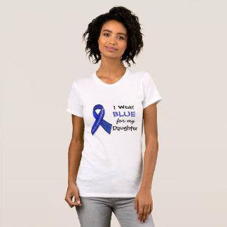 Ich trage blaues e für mein Shirt der Tochter-CFS-