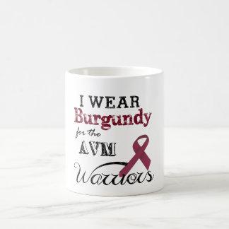 Ich trage Burgunder für die AVM Krieger-Tasse Kaffeetasse