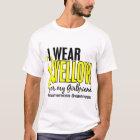 Ich trage Gelb für meinen Freundin10 Endometriosis T-Shirt