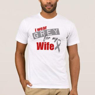 Ich trage Grau für meine Ehefrau T-Shirt